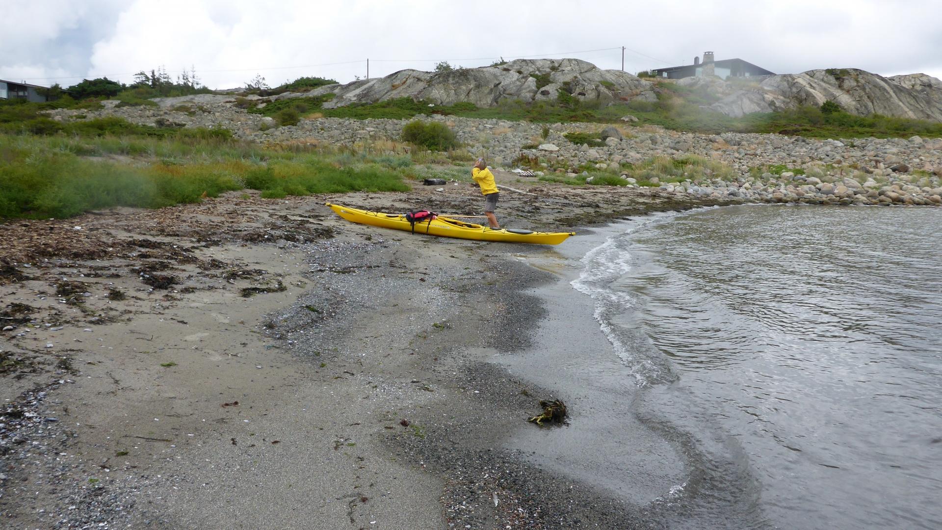 Stranda i Grønnebauen, Herføl