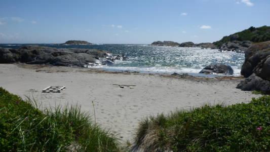 Strand østsiden Ramsø