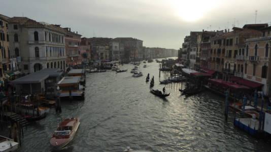 Canal Grande fra Rialtobroen