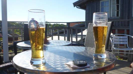 Fra Restauranten på Vestra Bryggan, Nord-Koster
