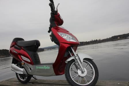 Test elektrisk sykkel