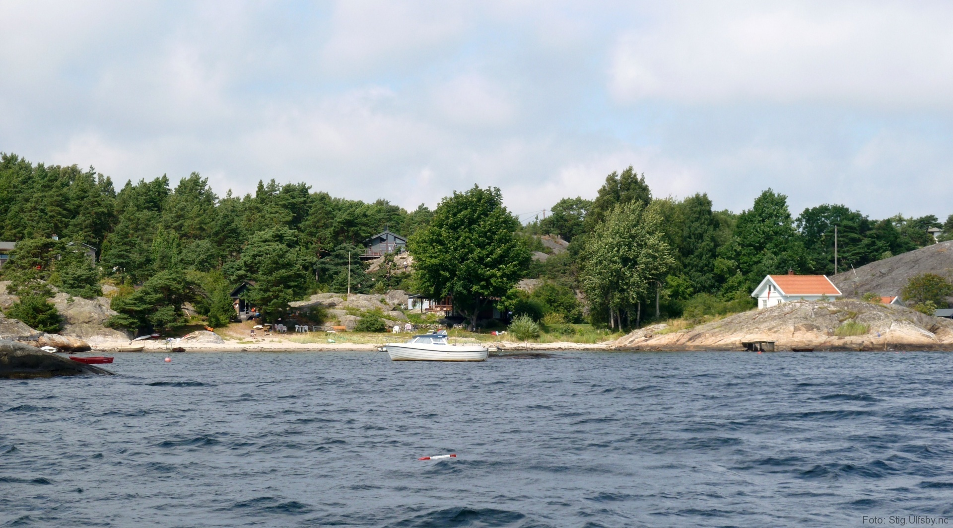 Kasa på Søndre Sandøy, Hvaler juli 2010