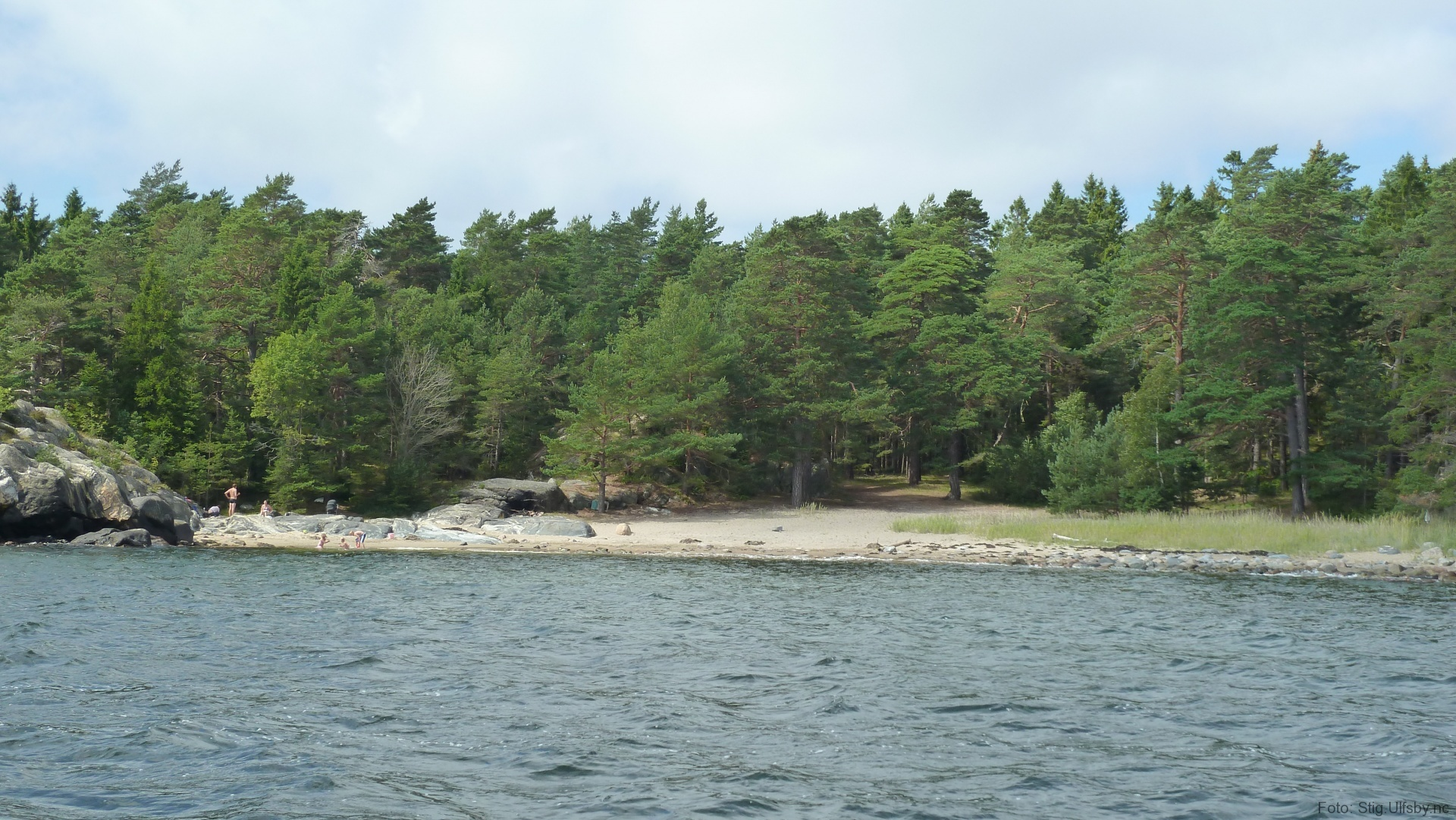 Fiskekroken på Søndre Sandøy, Hvaler juli 2010