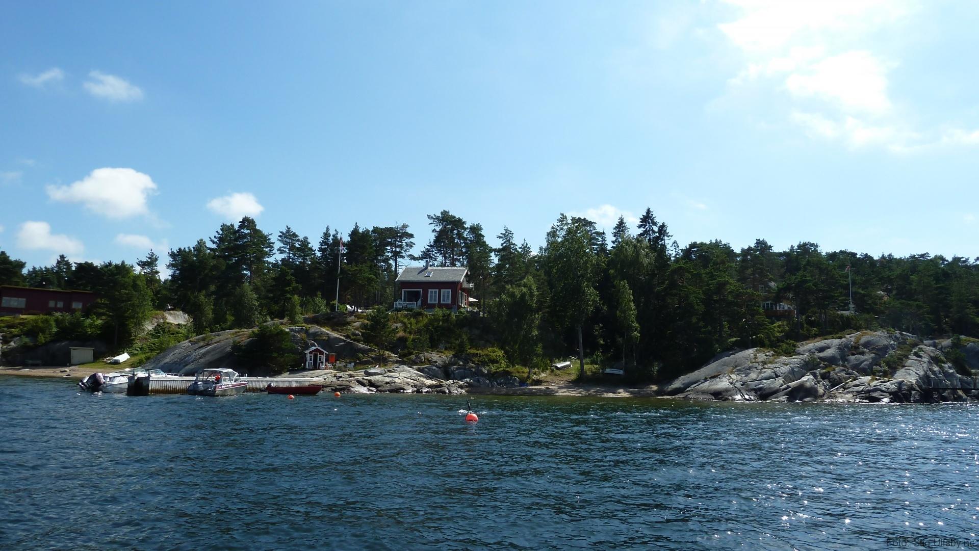 Lervik på Søndre Sandøy, Hvaler juli 2010