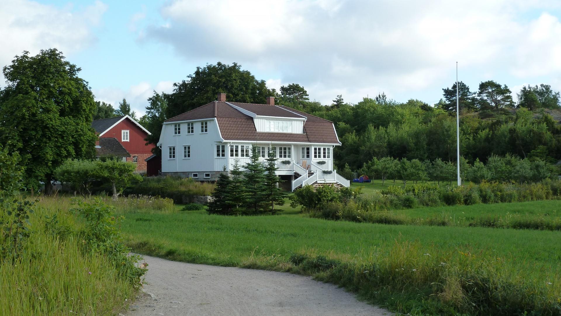 Sandø Rød på Søndre Sandøy, Hvaler juli 2010