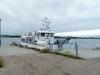 Rutebåten Olava på Nedgården, Søndre Sandøy, Hvaler, 2010