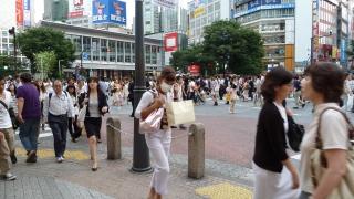Shibuya - en bydel med flotte butikksentre og mye folk
