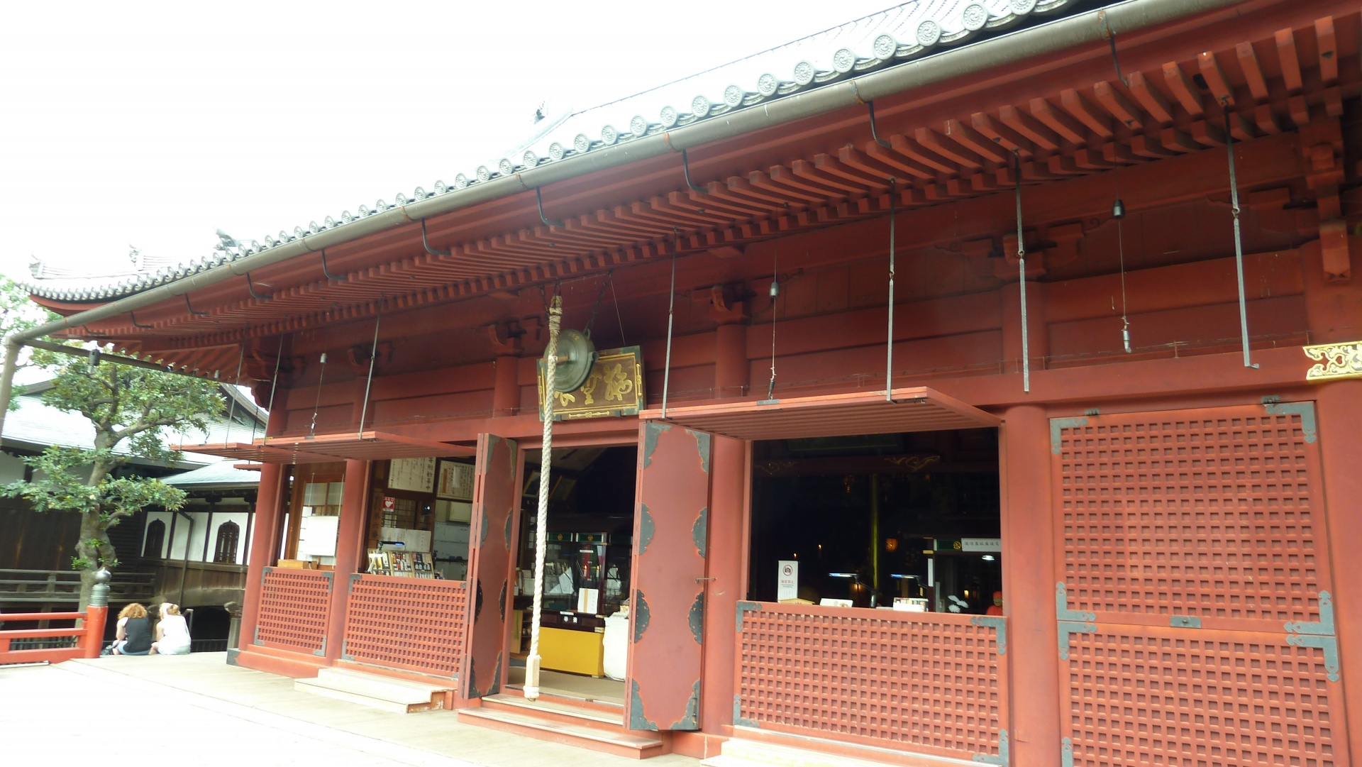 Helligdom i Ueno-parken