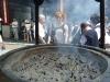 Røkelse i Sensjoji tempelet